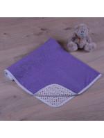 Одеяло «Балу» фиолетового цвета