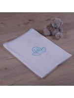 Одеяло «Зайчик» с голубым декором
