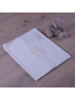 Одеяло «Зайчик» с бежевым декором