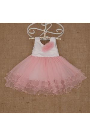 Платье «Натали» розового цвета