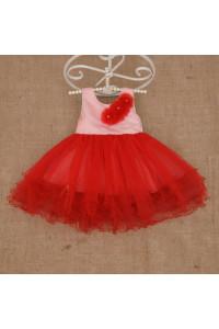 Платье «Натали» красного цвета