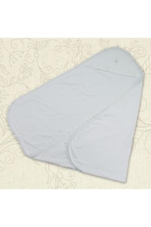 Крижма «Ажурна» білого кольору