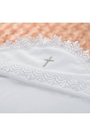 Крыжма «Ажурная» белого цвета