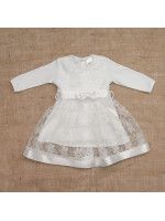 Сукня для дівчинки «Мрія» білого кольору