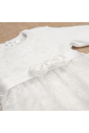 Платье для девочки «Мечта» белого цвета