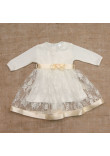 Сукня «Мрія» молочного кольору