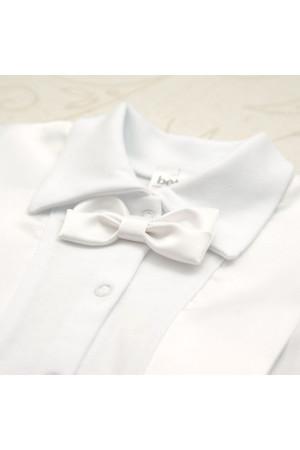 Костюм для хлопчика «Святковий-2» білого кольору