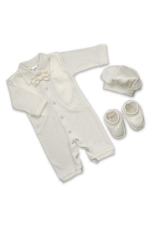 Костюм для хлопчика «Святковий-2» молочного кольору