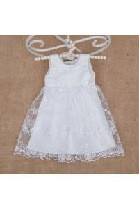 Платье «Ажурное» белого цвета