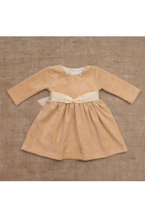 Сукня «Намистинка» кавового кольору