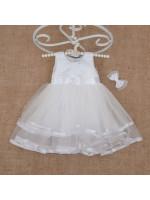 Платье «Аленка» белого цвета