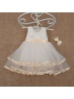 Платье «Аленка» молочного цвета