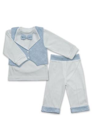 Костюм «Маленький принц» голубого цвета с длинным рукавом