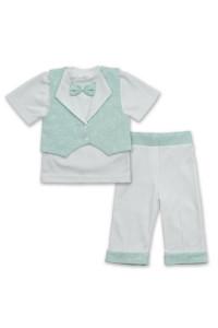 Костюм «Маленький принц» бирюзового цвета с коротким рукавом