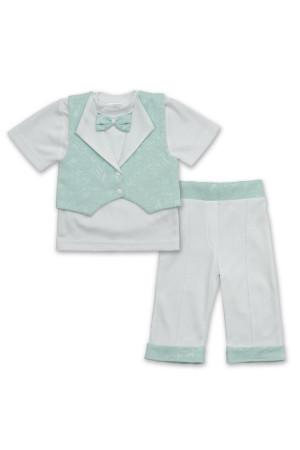 Костюм «Маленький принц» бірюзового кольору з коротким рукавом
