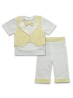 Костюм «Маленький принц» желтого цвета с коротким рукавом
