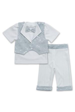 Костюм «Маленький принц» сірого кольору з коротким рукавом