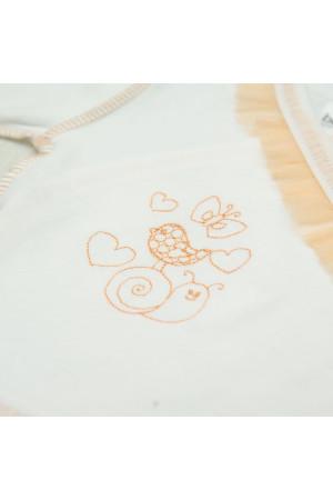 Костюм для дівчинки «Равлик» із золотавим декором