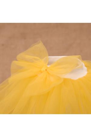 Костюм «Веселка» жовтого кольору