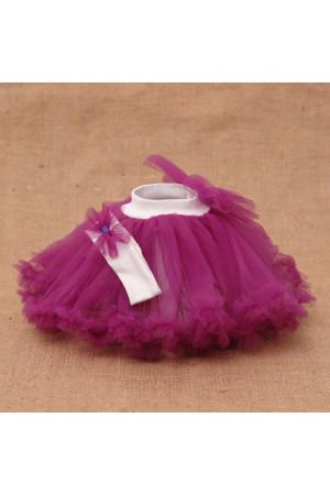 Комплект «Радуга» фиолетового цвета