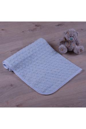 Одеяло «Амурчик» голубого цвета