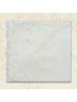Крижма «Натхнення» білого кольору, розмір 75х80