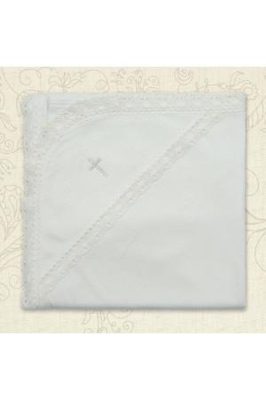 Крыжма «Вдохновение» белого цвета, размер 75х80