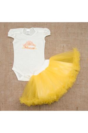 Костюм «Принцеса» жовтого кольору