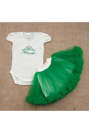 Костюм «Принцесса» зеленого цвета