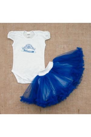 Костюм «Принцесса» синего цвета