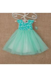 Сукня «Діамант» м'ятного кольору