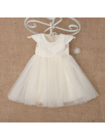 Платье «Бриллиант» молочного цвета
