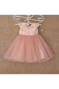 Платье «Бриллиант» цвета пудры