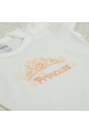 Боді «Принцеса» молочного кольору