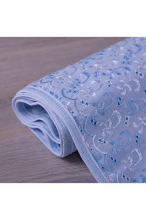 Одеяло «Крошка» голубого цвета