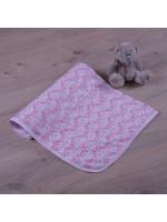 Одеяло «Крошка» розового цвета