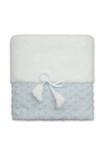 Одеяло «Амурчик-2» голубого цвета