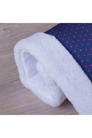 Одеяло «Джинсик» в красный горошек