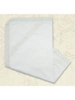 Крижма «Звичай» білого кольору