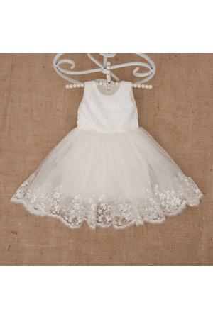 Платье «Елизавета» молочного цвета