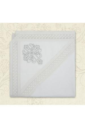 Крижма «Звичай-2» білого кольору