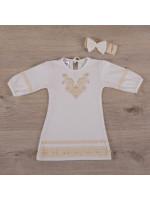 Сорочка для хрещення «Чарівність» молочного кольору
