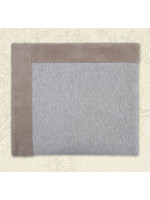 Ковдра «Бегемотик» сірого кольору