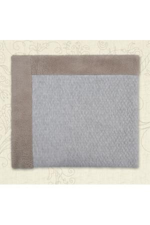 Одеяло «Бегемотик» серого цвета