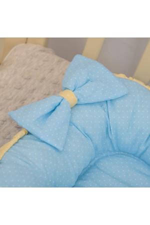 Кокон «Совенятко» блакитного кольору