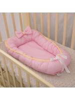 Кокон «Совенятко» рожевого кольору