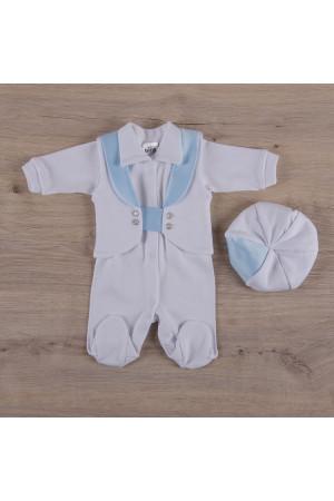 Костюм «Малышок» голубой с белым