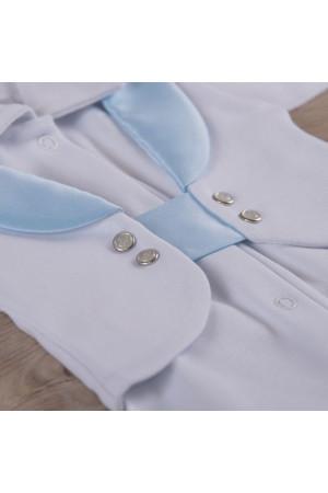 Костюм «Малишок» блакитний з білим
