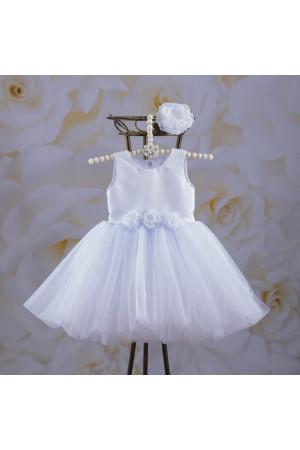 Платье «Эмилия» белого цвета