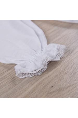 Костюм для дівчинки «Хрестильний» білого кольору